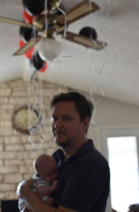 Lyla's first birthday; Boy's first party
